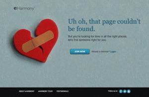 eHarmony 404