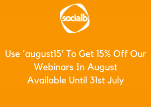 Use 'august15' To Get 15% Off Our Webinars2