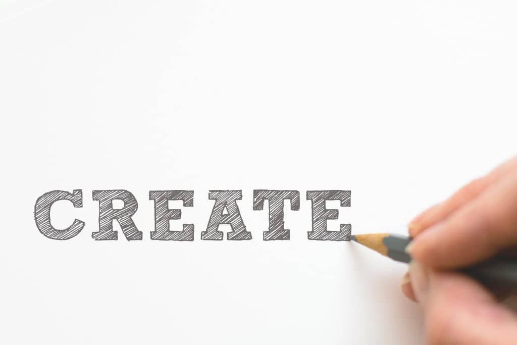 create hand pen