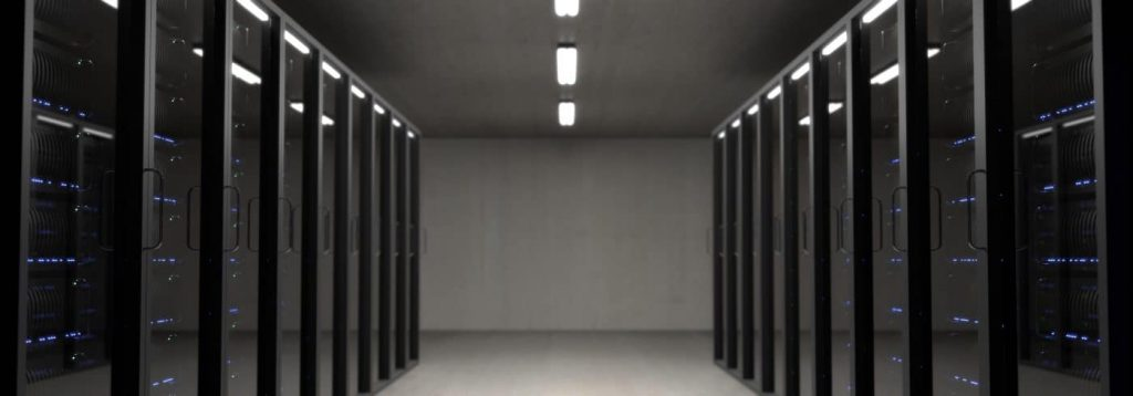 a storage room filled with data