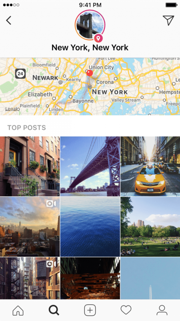 instagrams latest feature explore lets you see peoples stories in your neighbourhood