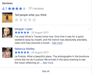 Olivers Travels Facebook review