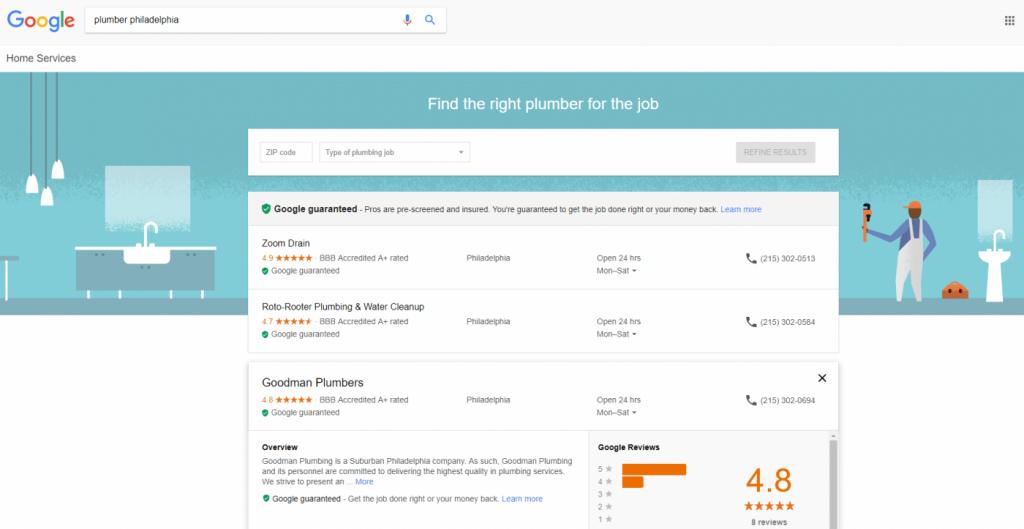 plumber philadelphia Google Search