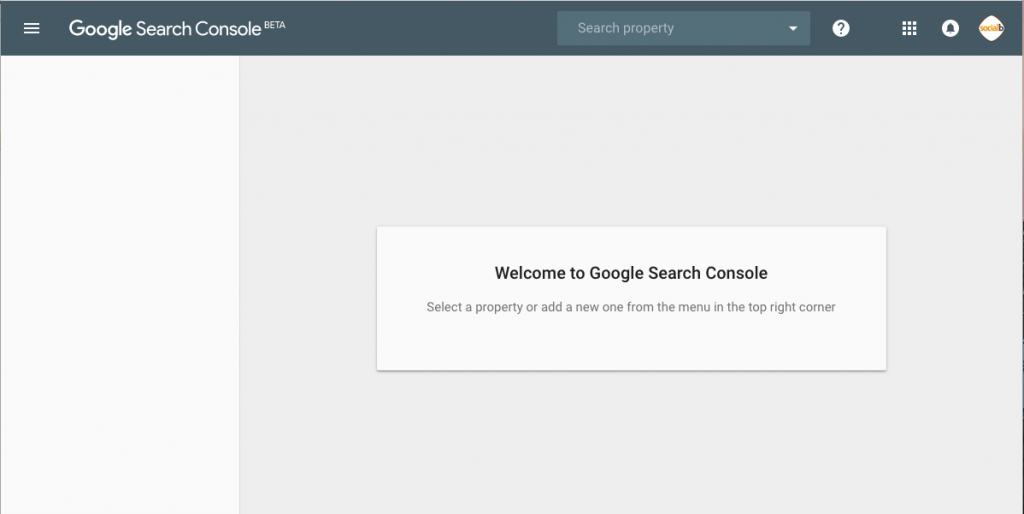 updated version of google search console
