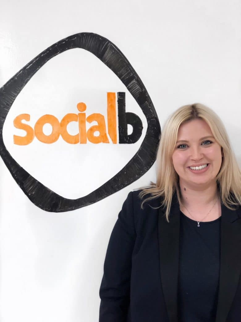 Charlotte Travers Training Manager SocialB