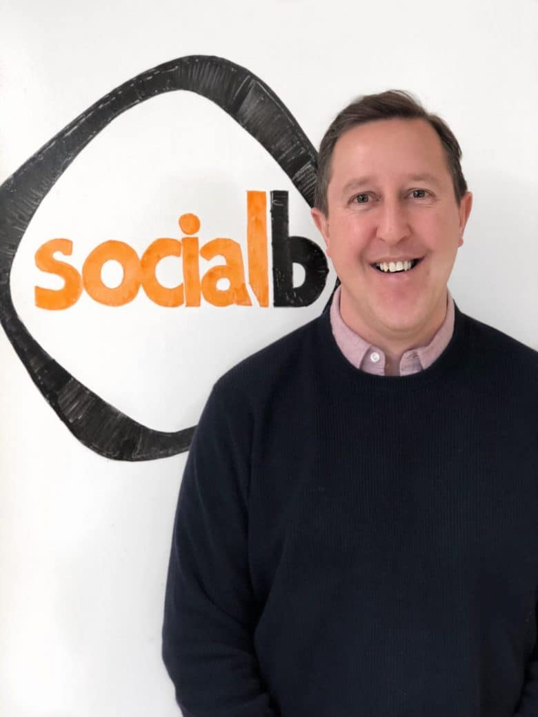 Ed Goodman Partner & Social Media Trainer SocialB