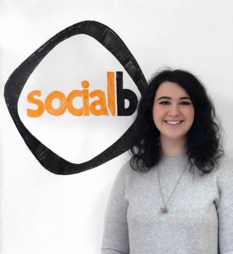 Ellie Bougie-Smith Digital Marketing Manager SocialB