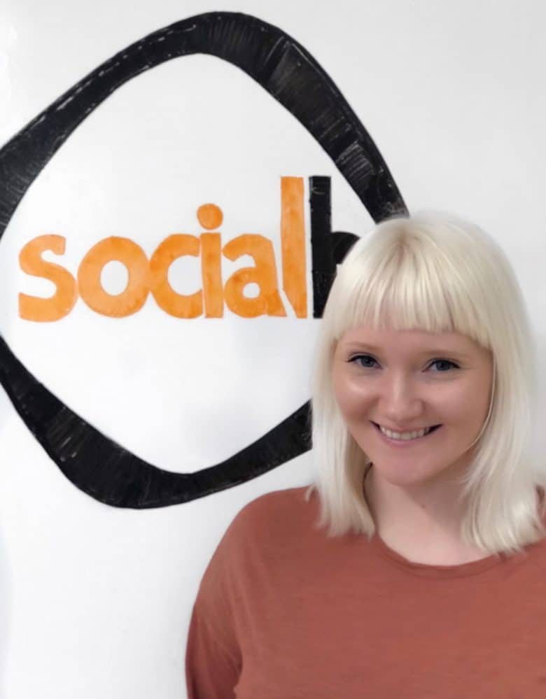 Lottie Smith Sales and Training Coordinator SocialB