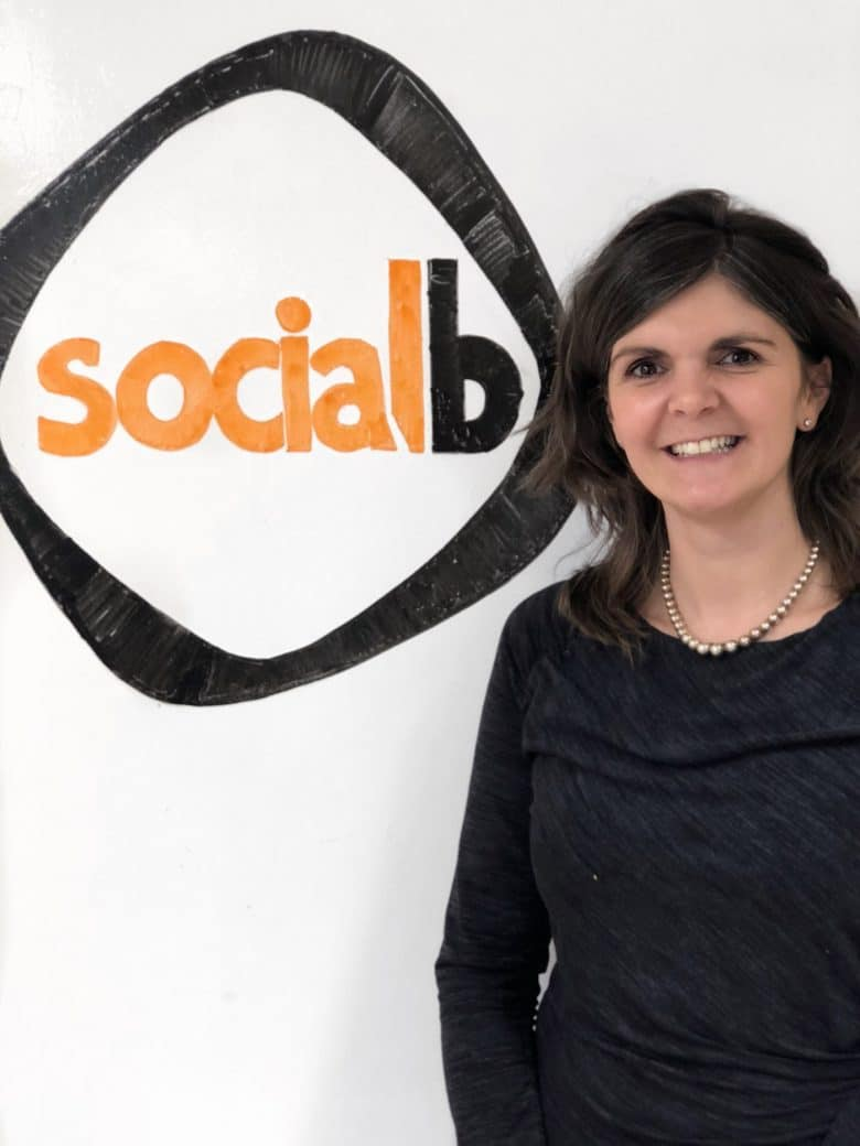 Lynsey Sweales CEO SocialB