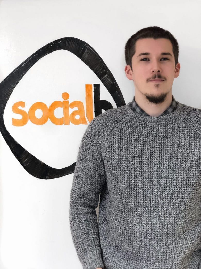 Paul Hogg Digital Marketing Executive SocialB