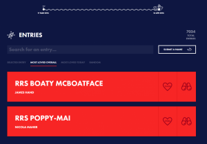 boaty mcboatface votes screen shot