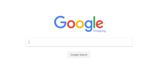 Google Shopping Homepage