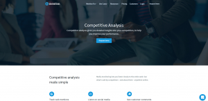 Mention Competitive Analysis Page
