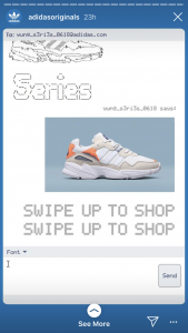 adidas Instagram In Ad Shopping