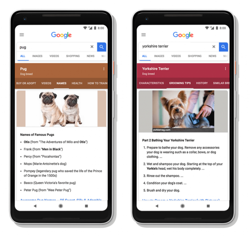 Google Topic Layers