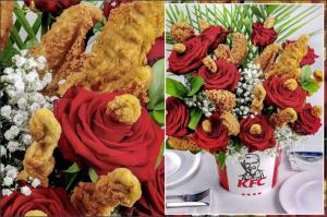 KFC Bouquet Valentine's Day