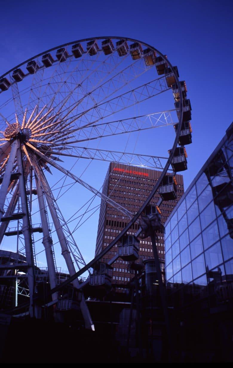 Manchester Wheel in England