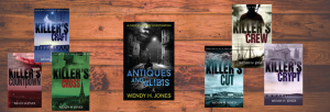 The books of Wendy H Jones