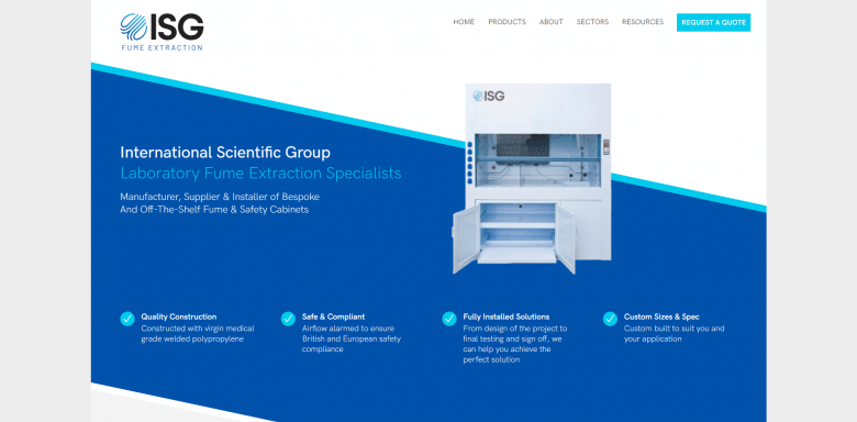 ISG Fume Website