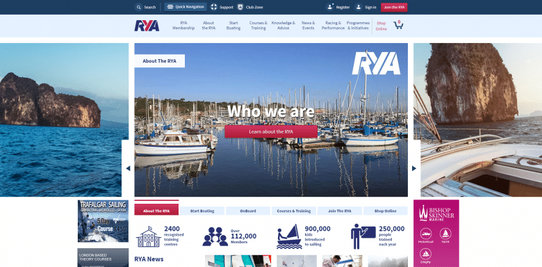 RYA Website