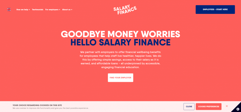 Salary Finance Website