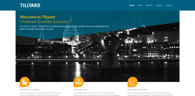 Tillyard Website