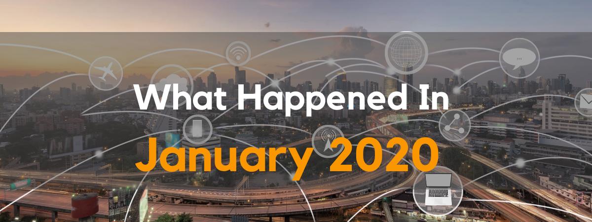 Digital Marketing News January