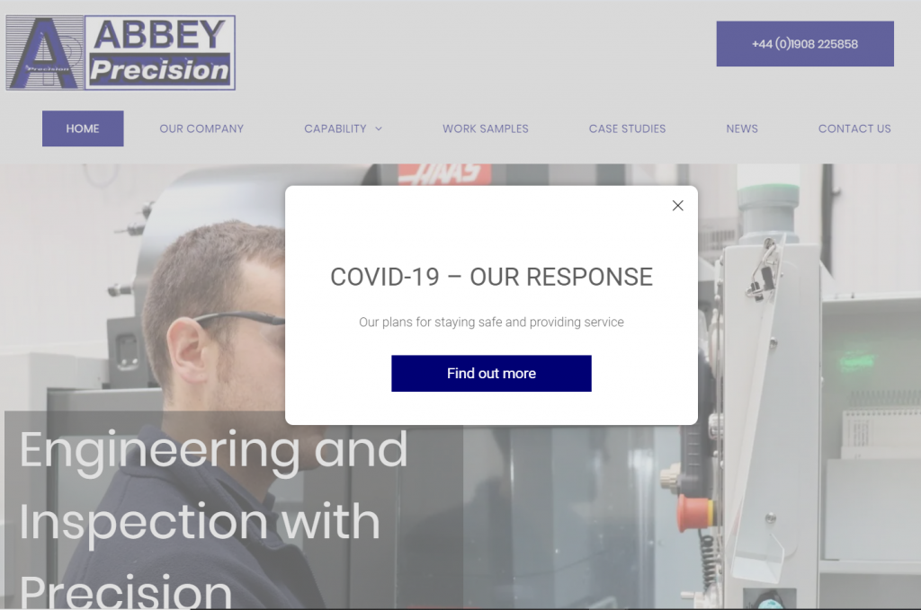 Abbey Precision Home Page