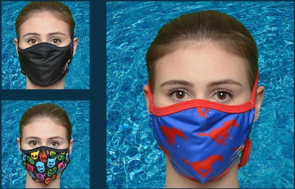 Agon Swimwear face masks