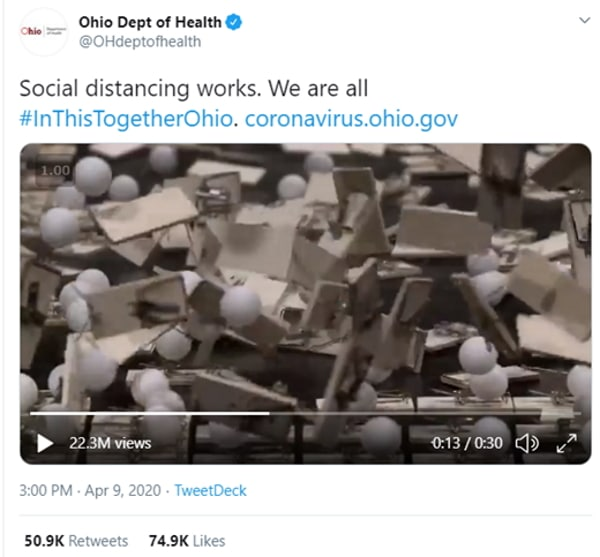 Ohio Department of Health - Ping Pong